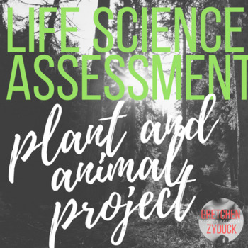 """Life Science """"Create a Critter"""" / """"Produce a Plant"""" Project"""
