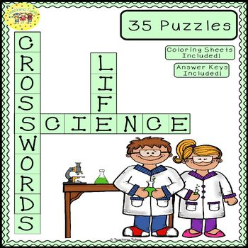 Life Science Crossword Puzzles