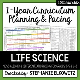 Life Science Biology Curriculum Planning and Pacing Guide