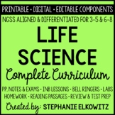 NGSS Life Science Biology Curriculum - Distance Learning