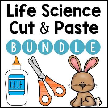 Life Science Cut and Paste BUNDLE