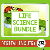 Life Science Digital Inquiry Jr. BUNDLE     3rd Grade    Distance Learning