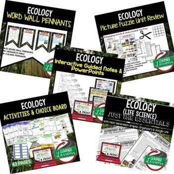 Ecology BUNDLE  (Life Science Bundle)