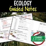Life Science Ecology Guided Notes