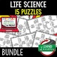 Life Science Elements of Life Puzzle Digital Interactive Notebook, Google, Print