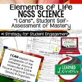 Life Science Elements of Life Student Self Assessment of M