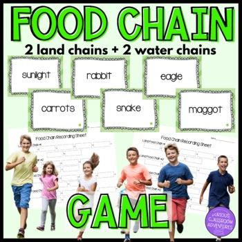 Life Science-Food Chain Sequencing Game-Pit