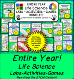 Life Science Bundle: Interactive Notebooks, Games, Scaveng