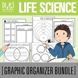 Life Science Graphic Organizer Bundle