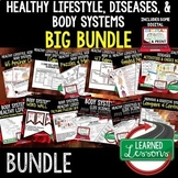 Body Systems, Healthy Lifestyle, Diseases BUNDLE  (Life Sc