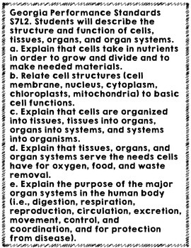 Life Science Hidden Word Vocabulary Puzzles: Cells, Organelles, and Body Systems