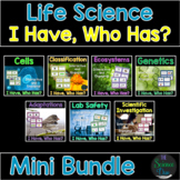 "Life Science ""I Have, Who Has?"" - Mini Bundle"