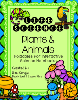 Life Science INB Foldables
