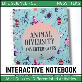 Animal Diversity: Invertebrates - Life Science Interactive Notebook
