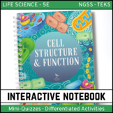 Cells Structure and Function Science Interactive Notebook - Distance Learning