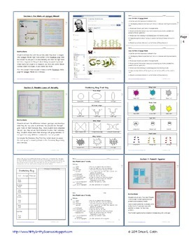 Genetics: The Study of Heredity - Life Science Interactive Notebook