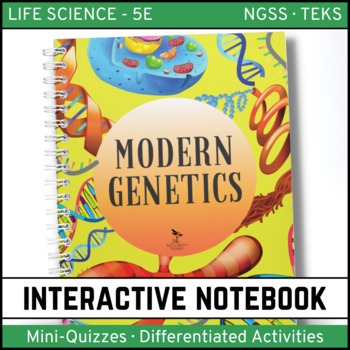 Modern Genetics: Life Science Interactive Notebook