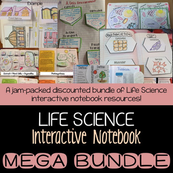 Life Science Interactive Notebook BUNDLE
