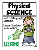 Physical Science Lesson Questions