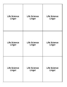 Life Science Lingo (Game)