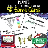 Classifications, Life Cycles Game Cards, Life Science Test Prep, NGSS
