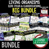 Plants, Flowers, Life Cycles, Classification BUNDLE  (Life Science Bundle)