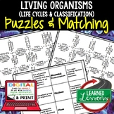 Life Cycles Classification Plants Flowers Puzzles Digital,