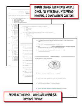 Animal Diversity: Vertebrates - Life Science Notes, PowerPoint & Test ~ EDITABLE