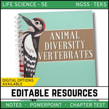 Animal Diversity: Vertebrates - Life Science Notes, PowerP