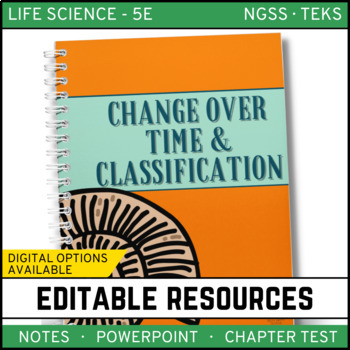 Change Over Time & Classification: Life Science Notes, Pow