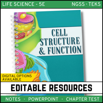 Cell Structure and Function: Life Science Notes, PowerPoin
