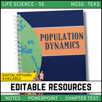 Population Dynamics: Life Science Notes, PowerPoint and Te