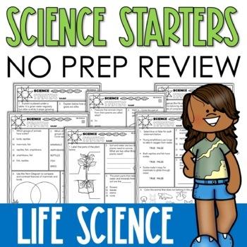 Life Science Printables
