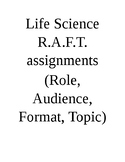 Life Science R.A.F.T.s