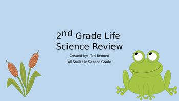 Life Science Review (made for GA 2nd Grade Standards)