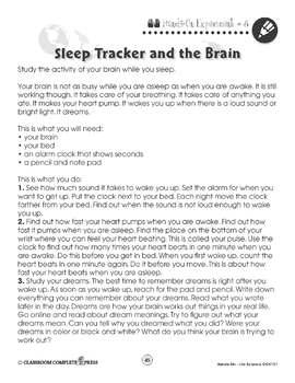 Life Science: Sleep Tracker - BONUS WORKSHEETS