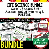Life Science I Cans, Life Science Posters  (Life Science Bundle)