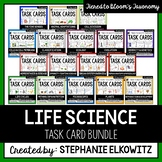 Life Science Biology Task Card Bundle