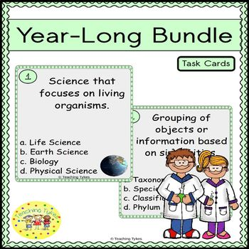 Life Science Task Cards