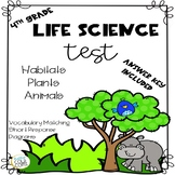 Life Science Test