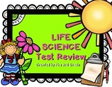Life Science Test Review ~ 3rd Grade