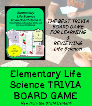 """Science Game: Elementary Life Science """"Making Learning Fun!"""""""
