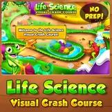 Life Science Visual Crash Course - Interactive Quiz Game
