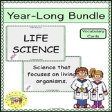 Life Science Vocabulary Cards