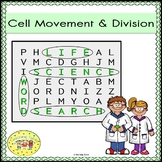 Cell Movement and Division Word Search