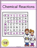 Chemical Reactions Word Search