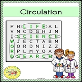 Circulation Word Search