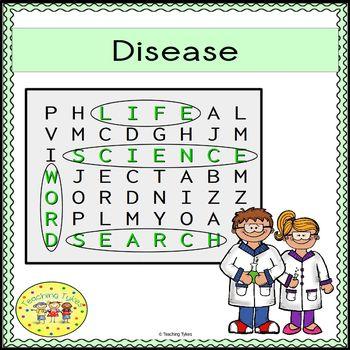 Disease Word Search