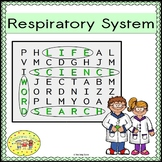 Respiratory System Word Search