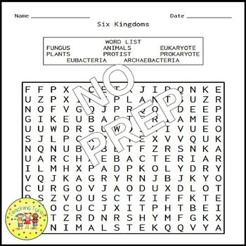 Six Kingdoms Word Search